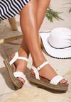 Białe Sandały Inside Beauty