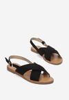 Czarne Sandały Lope