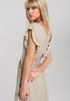Beżowa Sukienka Mignonette