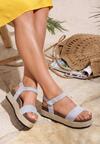 Niebieskie Sandały Friday