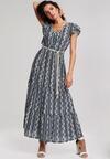 Granatowa Sukienka Be Convenient