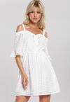 Biała Sukienka Naturehealer