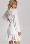 Biała Sukienka Magic Flame