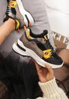 Czarne Sneakersy Boron