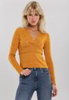 Żółty Sweter Malaya
