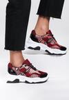 Czerwone Sneakersy Celosia