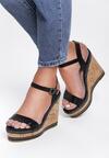 Czarne Sandały Kenia