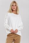 Biały Sweter Rosabel