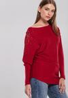 Bordowy Sweter Holland
