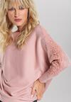 Różowy Sweter Rosalyn