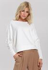 Biały Sweter Rosalyn