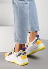 Żółte Sneakersy Marie