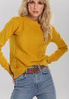 Żółty Sweter Banyan