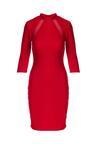 Czerwona Sukienka Feminal