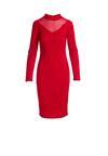 Czerwona Sukienka Behoof