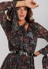 Czarna Sukienka Rainham