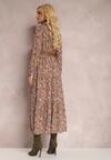 Ciemnobeżowa Sukienka Foligno