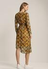 Żółto-Czarna Sukienka Queslett