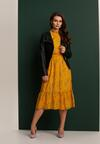 Żółta Sukienka Les Lilas