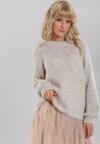 Biały Sweter Balgreen