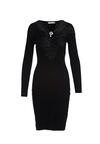 Czarna Sukienka Luddenham