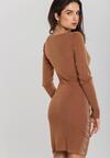Brązowa Sukienka Macquarie