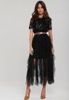 Czarna Sukienka Macleay