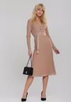 Beżowa Sukienka Aylsham