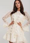 Kremowa Sukienka Warrendale