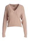 Beżowy Sweter Bon Air