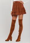 Camelowa Spódnica Roseway