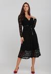 Czarna Sukienka Hatlight
