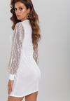 Biała Sukienka Battery