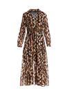 Ciemnozielona Sukienka Bancroft