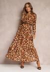 Camelowa Sukienka Bancroft
