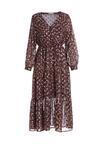 Brązowa Sukienka Trevino