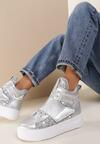 Srebrne Sneakersy Sykes