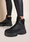 Czarne Sneakersy Cheyanne