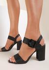 Czarne Sandały Anisah