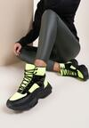 Żółte Sneakersy Shona