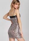 Beżowa Sukienka Alyssia