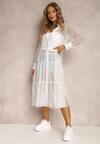 Biała Sukienka Faizah