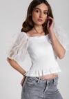 Biała Bluzka Pauline