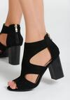 Czarne Sandały Simmons