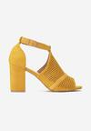 Żółte Sandały Aalia
