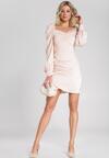 Łososiowa Sukienka Burnett