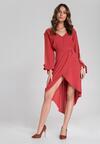 Czerwona Sukienka Cecilla