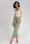 Jasnozielone Spodnie Dotson