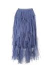 Niebieska Spódnica Amani