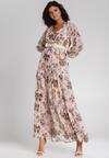 Jasnoróżowa Sukienka Alishia